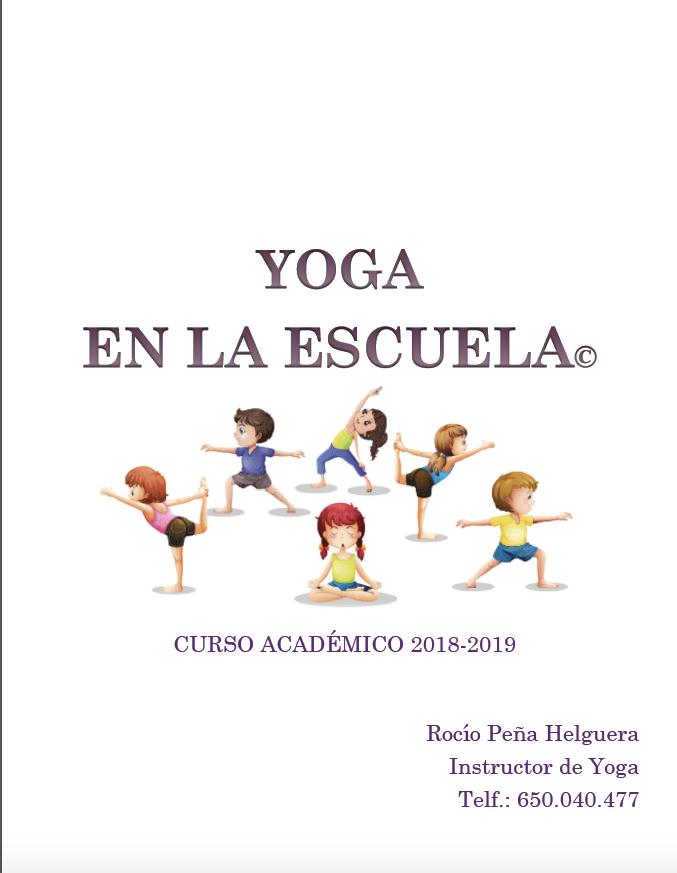 Yoga en la escuela 2018-2019