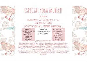Nuevas clases de Yoga para la Mujer