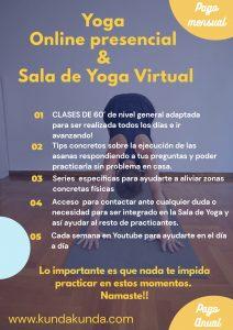 Bienvenido a mi Sala de Yoga Virtual / kundakunda.com